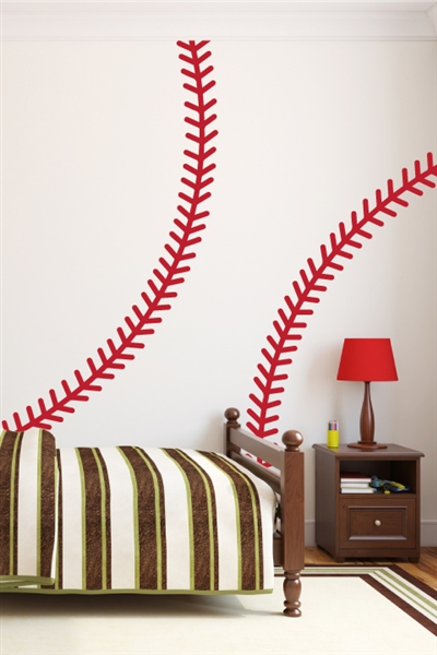 Baseball Stitches Wall Decals Art Without Boundaries