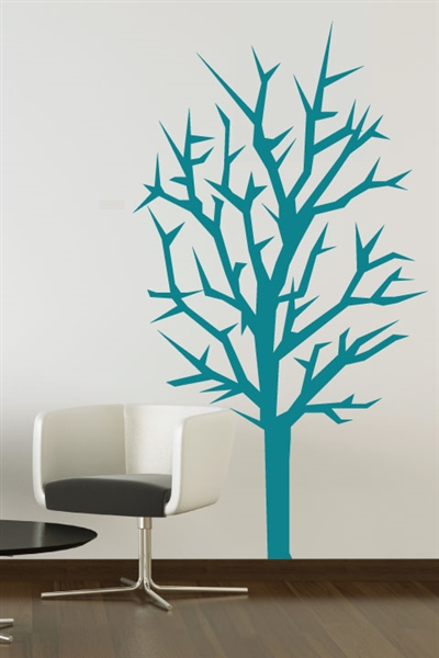 Winter Tree Wall Decal & Christmas Wall Decals - Winter Tree