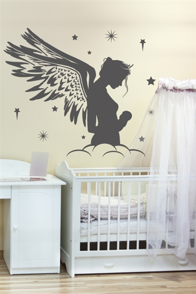 Nursery Wall Decals Mother Fairy Walltat Com Art Without