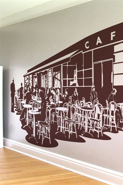 Wall Decals French Caf Art Without Boundaries
