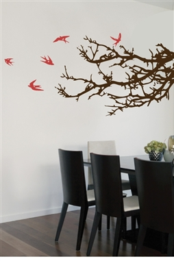 Branches and Birds Wall Decal