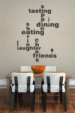 Dining Lingo Wall Decal