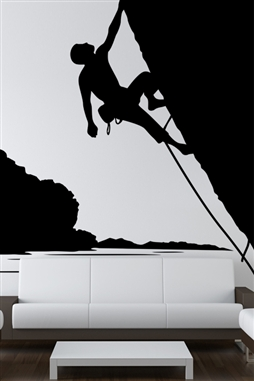 Climbing Nature Wall Decal