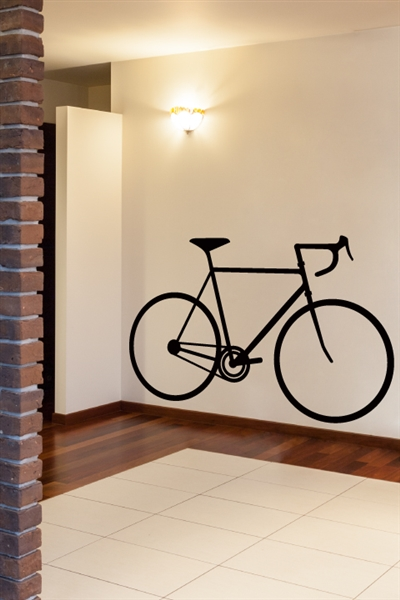 Bicycle Silhouette Wall Decals By Walltat Com